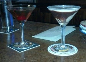 The actual (and very expensive) drinks we enjoyed after our 5th sales pitch.