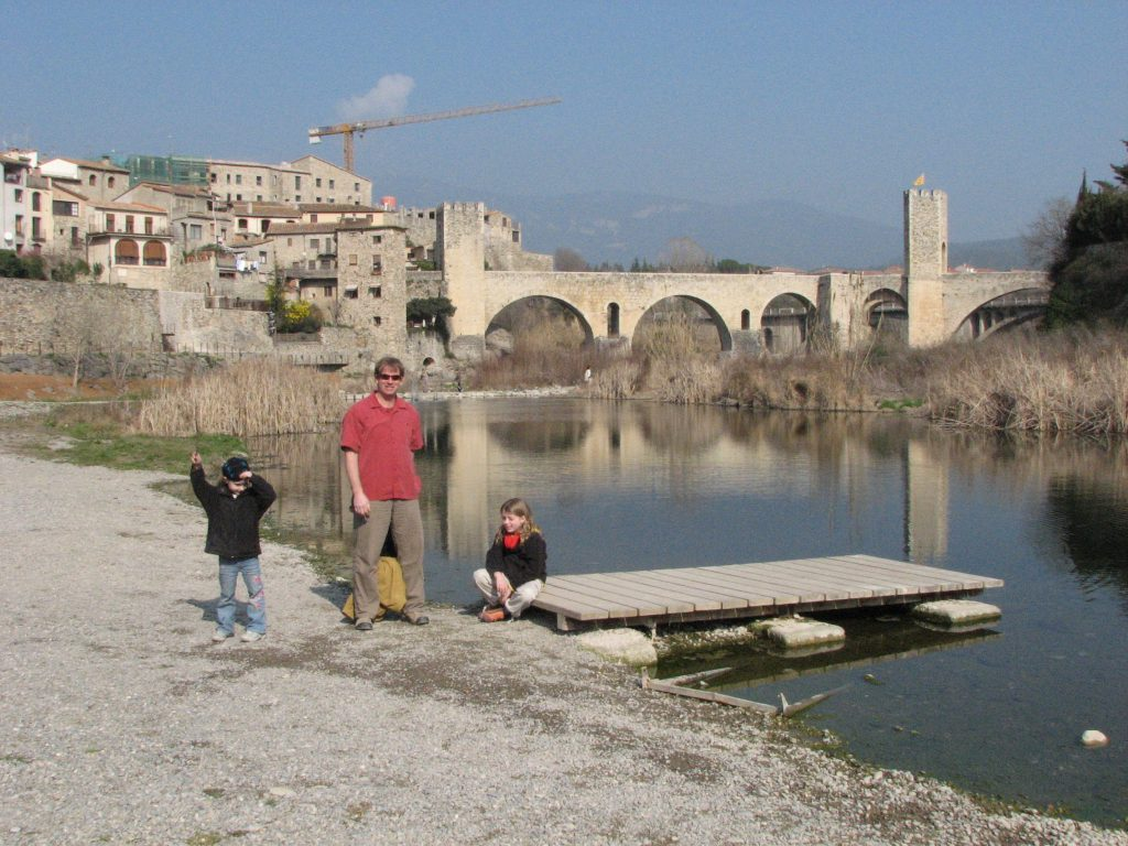 Hanging out in Besalu